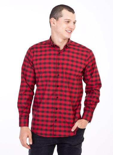 Kiğılı Gömlek Kırmızı